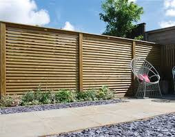 Contemporary Fencing Modern Softwood Fence Panels Jacksons Fencing