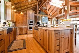 log cabin kitchen cabinet ideas