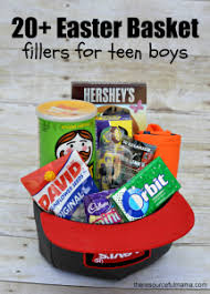 boy easter basket and 20 ideas
