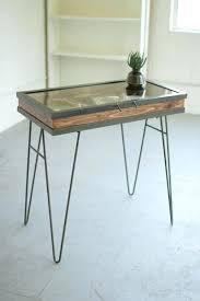 glass display table odapenley co