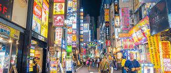 shinjuku golden gai and kabukicho night