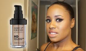 makeup forever hd foundation almond