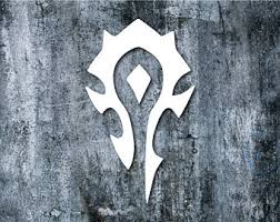 Horde Decal Etsy
