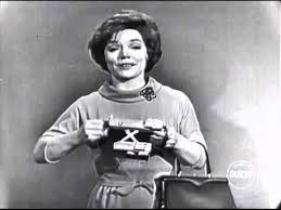 "Polaroid commercial with Denise Lor, live on ""I've Got a Secret ..."
