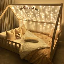 Magical Fairy Light House Bed In 2020 Toddler Girl Room Toddler House Bed Children Room Girl