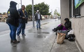 Coronavirus: Homeless outreach workers have a new worry - Los ...