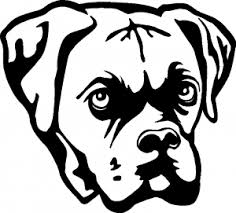 Boxer Bulldog Car Or Truck Window Decal Sticker Rad Dezigns