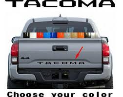 Toyota Tacoma Decal Etsy
