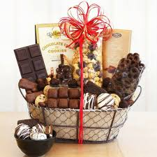 gift basket large truffles cookies