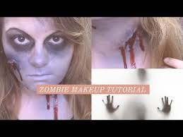 zombie makeup tutorial no latex