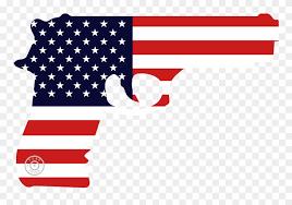 2nd Amendment Decals American Flag Gun Window Decal Clipart 2879631 Pinclipart