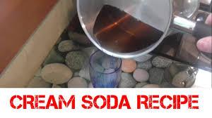 cream soda recipe homemade soda stream