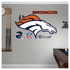 Nfl Fathead Junior Wall Decal 52 X 4 X 8 Denver Broncos Target