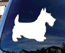 Scottie Dog Decal Dog Stickers Custom Sticker Shop