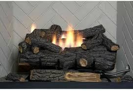 vent natural gas fireplace logs
