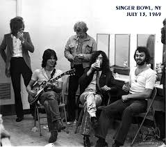 Jam with Jeff Beck Group (Singer Bowl, NY)   July 13, 1969