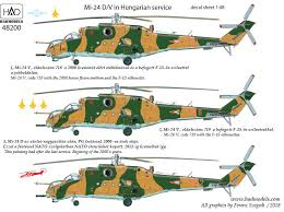 48200 Mi 24 V D Eagle Killers With Nato Stencils Double Decal Sheet 1 48