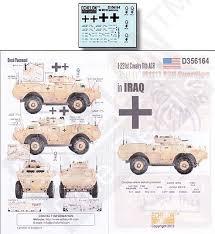 Echelon 1 221st Cavalry 11th Acr Dak M1117 Asv Guardian Plastic Model Military Decal 1 35