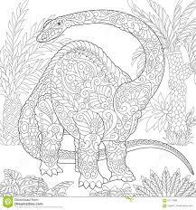 Mewarn05 Dino Kleurplaat Diploduocus