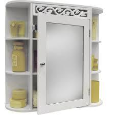 scroll wall mounted bathroom mirror
