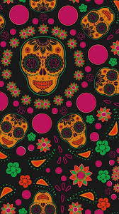 cute skull wallpaper new sugar skull