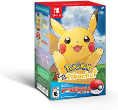 Pokemon Let's Go Pikachu + Poke Ball Plus for Nintendo Switch ...