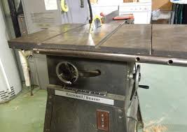 Rockwell Beaver Table Saw Right Adjustment Repair