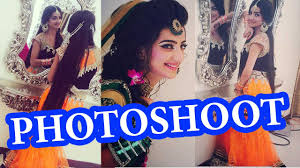 photo shoot for kashee s beauty parlour