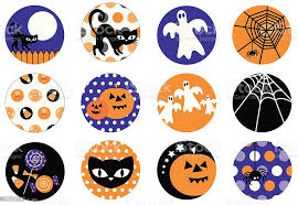 Cute Halloween Symbol And Icon Set Stock Illustration Download Image Now Istock