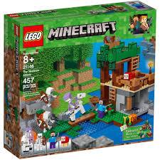 LEGO Minecraft 21146 - Người Xương tấn công Pháo Đài của Steve ...