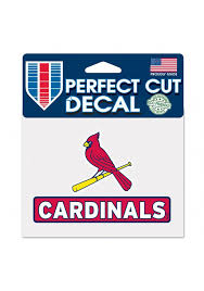 St Louis Cardinals 4 5x5 75 Auto Decal Red 5715794