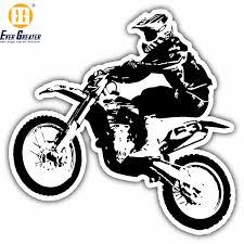 China Custom High Quality Waterproof Motocross Stickers China Motocross Stickers Design Motorcycle Stickers
