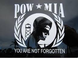 Freeanons Pow Mia Die Cut Vinyl Sticker Decal My Anon Store