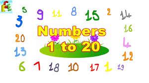 Số đếm tiếng Anh từ 1 đến 20