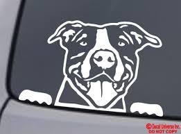 Boston Terrier Vinyl Dog Decal 1276 For Sale Online Ebay