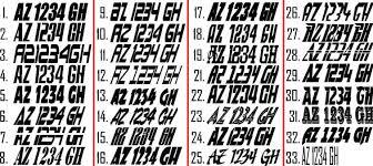 boat registration decals jet ski
