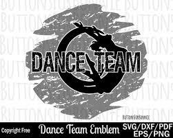 Dance Svg Dance Team Dance Squad Cheerleader Dancer Shirt Etsy