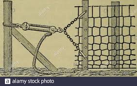 Hog Wire Fence High Resolution Stock Photography And Images Alamy