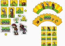 Plants Vs Zombies Free Printable Party Kit1 Jpg 1600 1131 Con