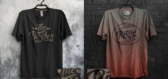 t shirt design mockup template baser