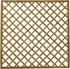 Waltons Wooden Fence Panels 6x6 Diamond Trellis Garden Fencing Pressure Treated 6 X 6 6ft X 6ft Amazon Co Uk Garden Outdoors