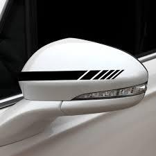 5pcs Car Side Door Body Hood Rearview Mirror Decal Stripes Sticker Racing Decals Walmart Com Walmart Com
