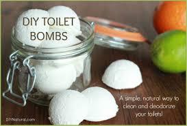 a deodorizing diy toilet cleaner