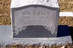 Ada Barnes (1908-1923) - Find A Grave Memorial