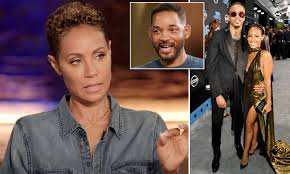 Jada Pinkett Smith admits she DID have an affair with singer August Alsina  | Daily Mail Online