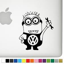 Vw Jerry The Minion Decal