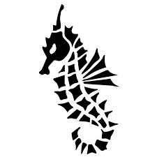 7 3cm 14cm Cute Seahorse Animal Fashion Decorative Car Window Glass Decal Sticker S6 2885 Decal Sticker Decoration Carcar Decal Sticker Aliexpress