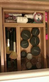 weekend project organize makeup drawer