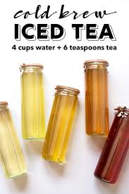how to easily make the best iced tea