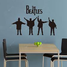 The Beatles Pattern Home Appliances Decoration Wall Sticker Sale Price Reviews Gearbest